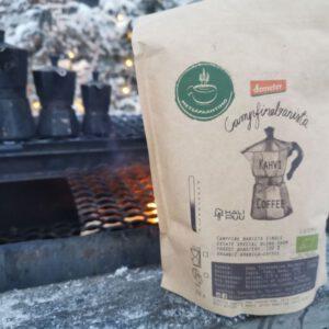 Campfire Barista 's Demeter certified coffee blend